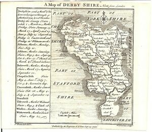 Antique-map-Derbyshire