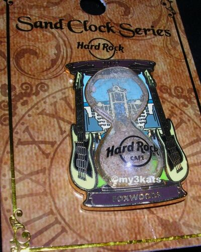 HARD ROCK CAFE FOXWOODS SAND CLOCK Hour Glass SERIES PIN 2017 LE300