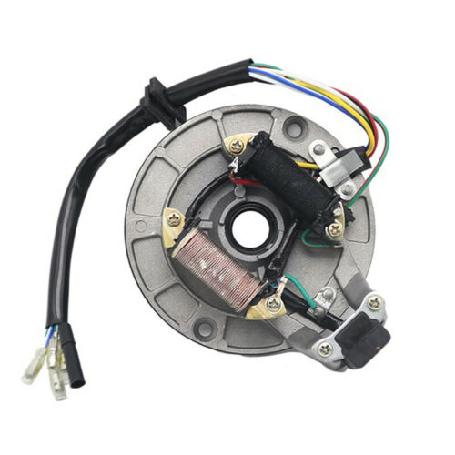 Motorcycle Pit Dirt Bike Parts Magneto Coil Stator Plate for 90cc 110cc 125cc *t