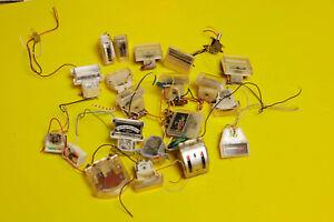 LOT Used VU Meter Vumeters AMP Radio Mixer Tube Amplifier Repair Parts Tuning