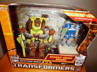 Transformers Hunt for Decepticon vs jolt Desert Ruins Brawl Action Figure Set