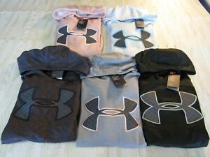 UNDER-ARMOUR-WOMENS-FLEECE-BIG-LOGO-HOODIES-NWT