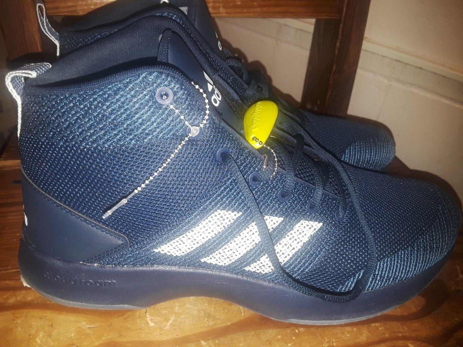adidas neo - - männer mitte der basketball - - schuhe - cf - vollstrecker bb9902 mitte der nacht blau size13 f74852