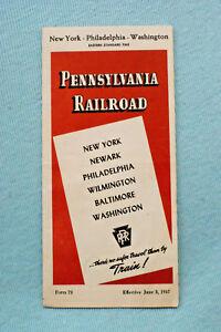 Pennsylvania-Railroad-Time-Table-New-York-Philadelphia-Washington-1947