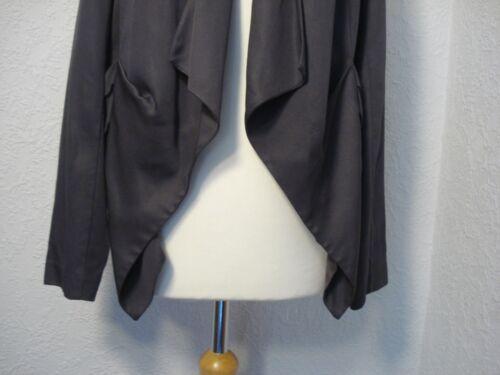 asymmetrische Grey Lagenlook Mint jas gelaagde 12 Velvet 85qwg6I