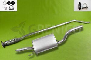 Auspuffanlage-Auspuff-ab-Kat-FIAT-PUNTO-188-1-2-1999-2009-mit-Montagesatz