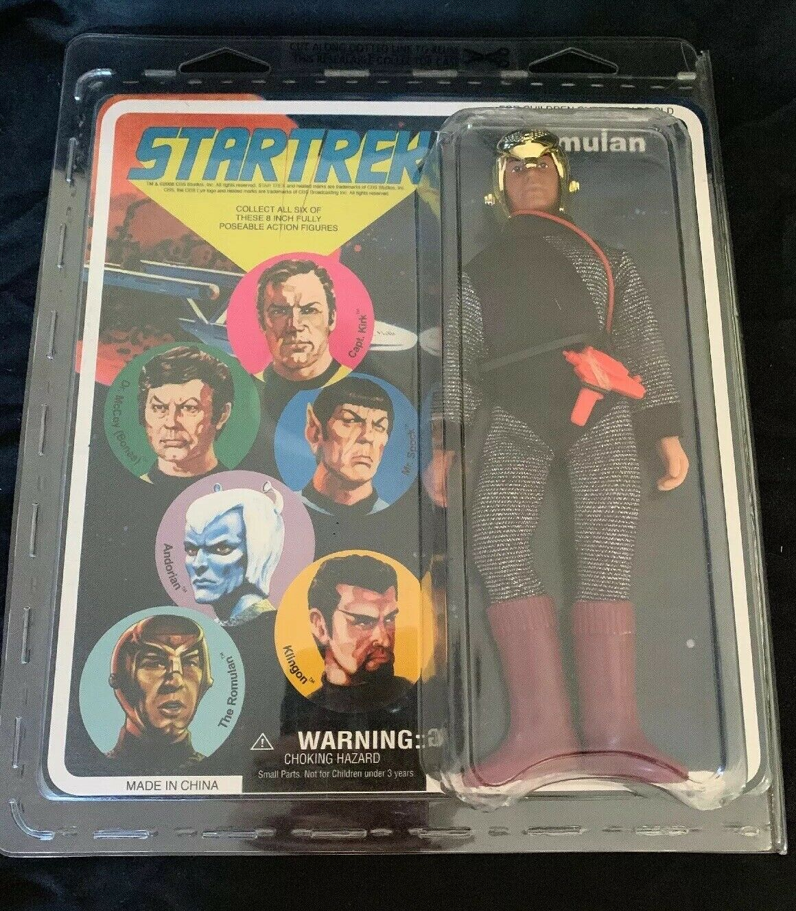 Estrella Trek Retro colector serie 1 Acción Figura-Romulano