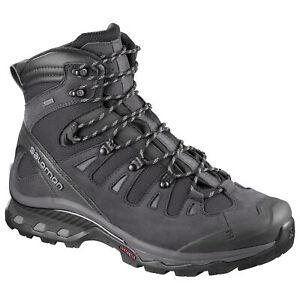 Salomon-Quest-4d-3-GTX-Gore-Tex-402455-Schwarz-Grau-Herren-Wanderschuhe-Schuhe