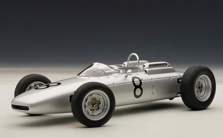 86272 AUTOART 1 18 Porsche 804 F1 Nurburgring 1962  8