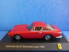 FERRARI 250 GT BERLINETTA LUSSO 1962 RED IXO FER035 1/43 ROSSO ROUGE ROT ITALIA