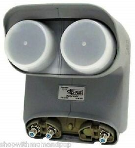Remanufactured-Dish-Network-Bell-ExpressVU-DishPro-Pro-Plus-DPP-TWIN-LNB-LNBF