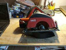 Hilti Wsc 725 A36 Cordless Circular Saw With Battery