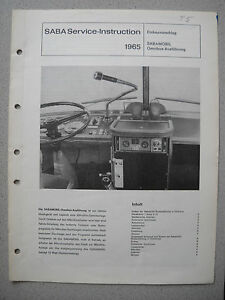 SABA-TK-R-15-SABAMOBIL-Tonbandgeraet-Einbauvorschlag-in-Omnibus