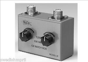 New-Maco-91-Cb-Ham-Radio-High-SWR-Matcher-Antenna-Tuner