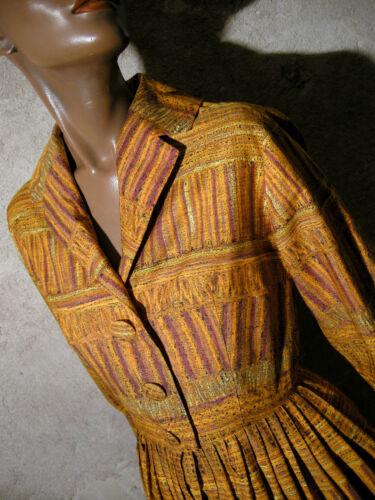 Abito 1950 Années Rockabilly Vintage Vtg 38 Dress Robe Chic Zazou 50er Kleid 1950 0WvTYYq