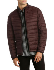 NEW Blaq The Night King Puffer Jacket Aubergine