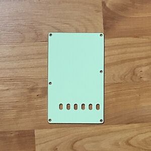 Mint-Green-3-Ply-Back-Plate-Tremolo-Cover-for-USA-MIM-Fender-Strat-NEW