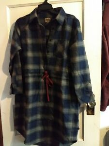 b7f48ebda2 Image is loading United-By-Blue-Moraine-Flannel-Dress-NWT-size-