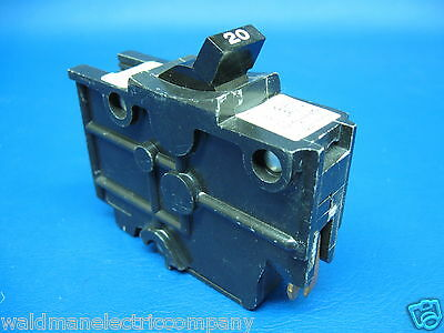 """Lot of 4 Federal Pacific Stab Lok NASWD 20 Amp 1 Pole  1/"""" THICK"""