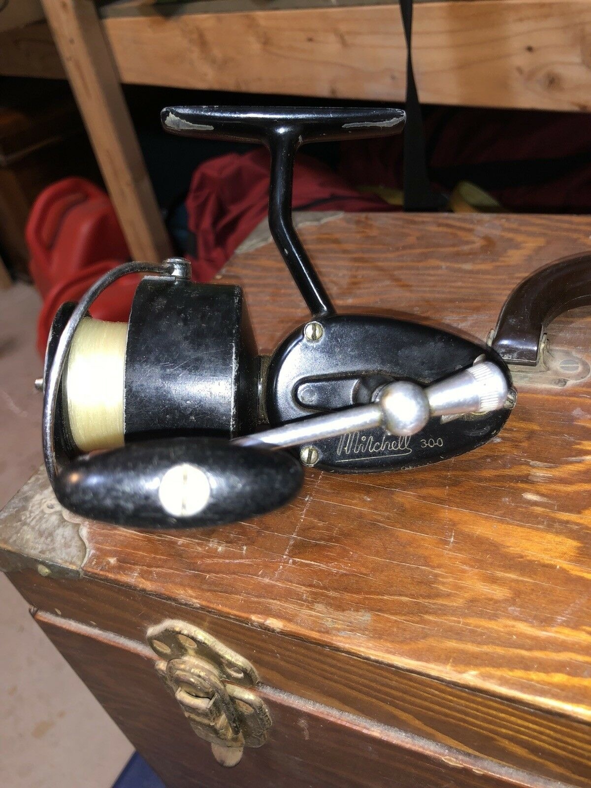 Antique Mitchell 300 Fishing Reel