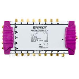 OPTICUM-OMS-5-16-Multischalter-DIGITAL-16-Teilnehmer-Full-HD-3D-Multiswitch-neu