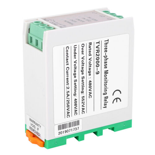 Circuit Protection Voltage Monitoring Relay 3 Three-phase Circuit Protection
