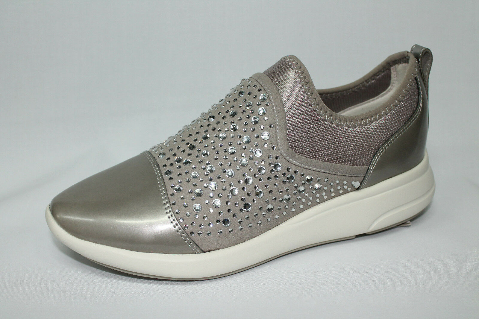 zapatos zapatillas Slip on Geox Geox Geox D Ophira B plata listino - 20%  alta calidad general