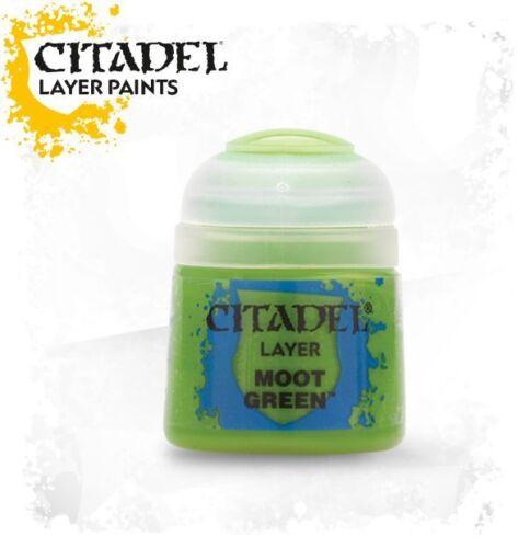 Citadel Layer Paint warhammer Moot Green NEW /& SEALED