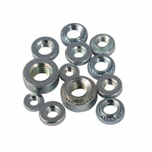 M10 Zinc Plated Carbon Steel Self Clinching Nuts Stamping Rivet Nut M2 M2.5 M3