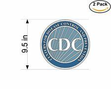"Centers Disease Control Prevention CDC Seal Car Bumper Vinyl Sticker Decal 4.6/"""