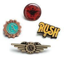 Rush Clockwork Angels 4 Pin Pack Set - Officially Licensed