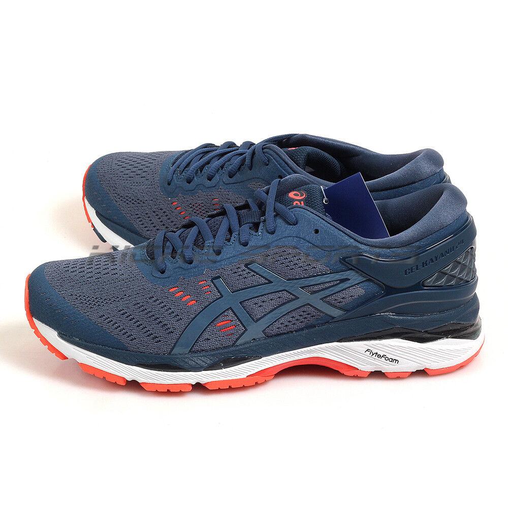 Asics GEL-Kayano 24 Smoke Blue/Dark Blue Sportstyle Running Shoes T749N-5656