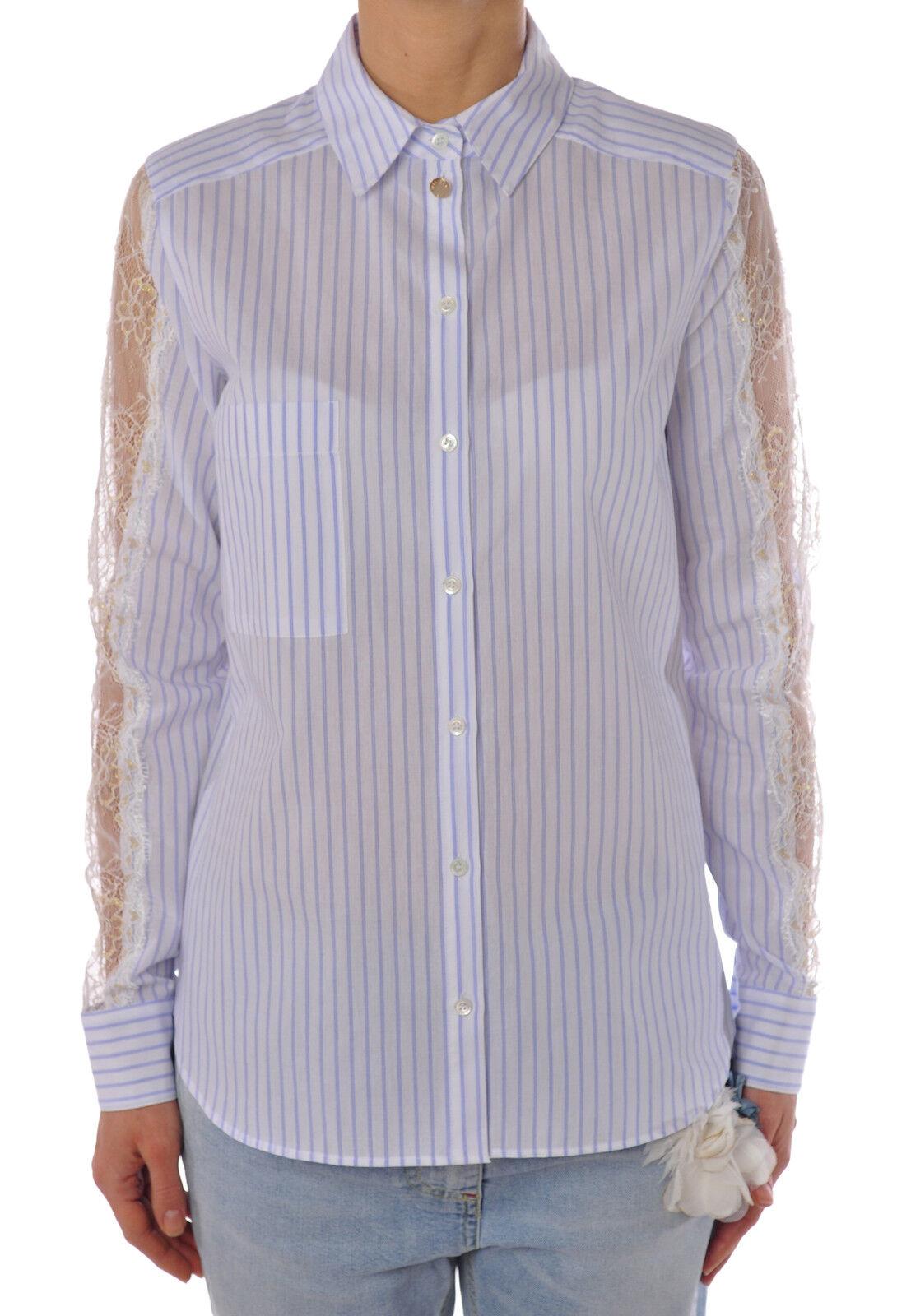 Patrizia Pepe  -  Shirt - Female - 42 - Weiß - 1377405B161036