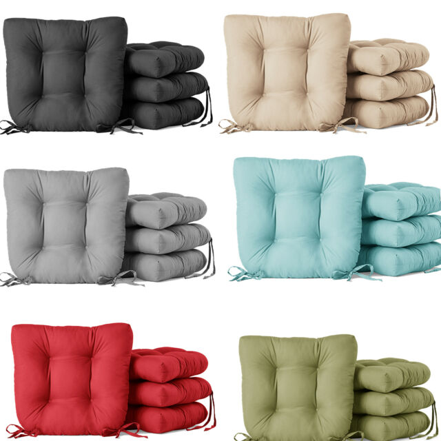 Patio Cushions Set Of 2 Chair Seat Pad