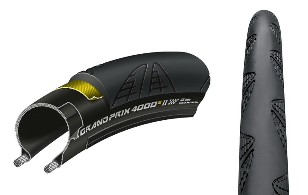 Continental Bike Tyre Grand Prix 4000 S II all Sizes