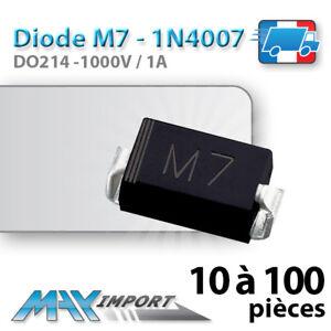 Diode-redressement-M7-1N4007-SMD-CMS-Lots-multiples-prix-degressif