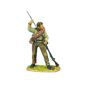ACW053 Confederate Infantry Standing Loading by First Legion