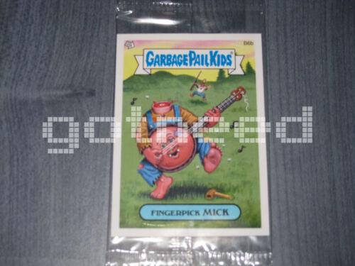 B6b Fingerpick Mick 2012 USA Garbage Pail Kids Brand New Series 1 Bonus Card