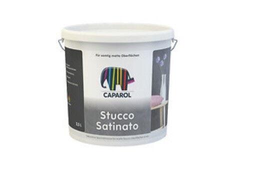 Caparol Capadecor Stucco Satinato 2,5 Liter -matte Glättetechnik-