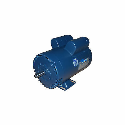 5 hp electric motor 56 for compressor 3450 rpm 1 phase 208-230 24 month warranty