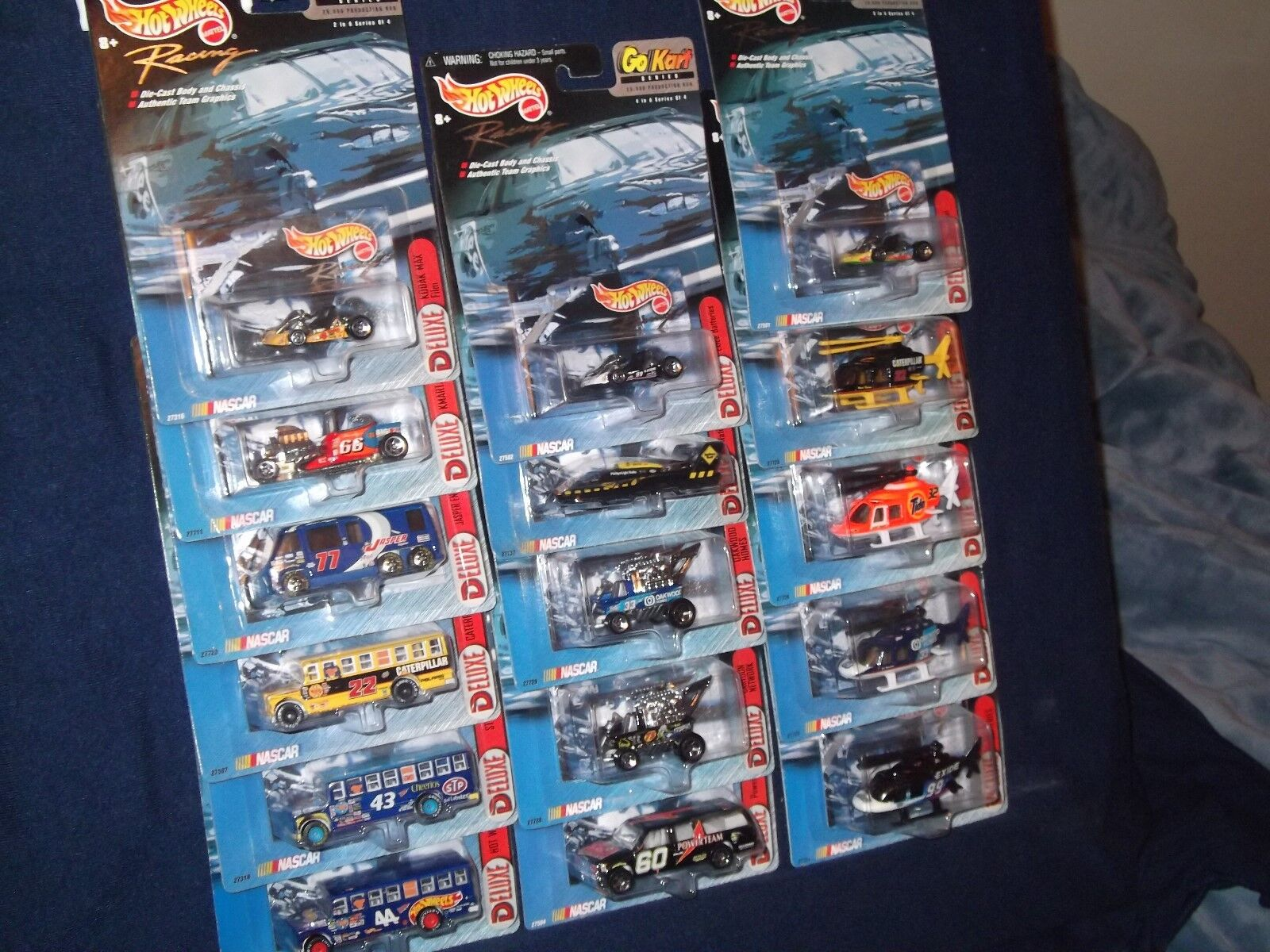 Hot Wheels NASCAR lot NO duplicates Lot 7 Real Rider