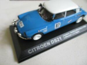 Miniature-Citroen-DS-21-1968-London-Sydney-1-43-Universal-Hobbies-Atlas