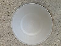 Frost Round Replacement Glass Dish For Oil/tart Warmer Burner 4 1/2d