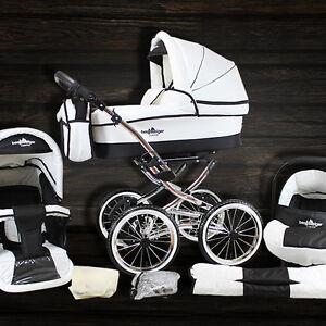 bergsteiger venedig nostalgie kombi kinderwagen retro vintage 3 in 1 buggy ebay. Black Bedroom Furniture Sets. Home Design Ideas