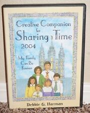 Creative Companion for Sharing Time CD-ROM LDS MORMON Lesson Charts Games