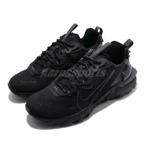 Nike-React-Vision-Triple-Black-Mens-Running-Shoes-Lifestyle-Sneakers-CD4373-004