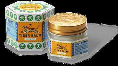 TIGER BALM WHITE&RED HERBAL RUB FOR RELIEF OF MUSCULAR PAIN 10 g.
