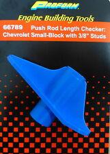 "Proform 66789 Chevy SB Engines Pushrod Lenght Checker Tool Fit 3/8"" Rocker Stud"
