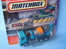 Matchbox Mercedes Actros Cement Mixer Green 110mm Working Rigs Toy Model Truck