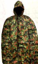 Swiss Military Camouflage Poncho- Heavy Duty